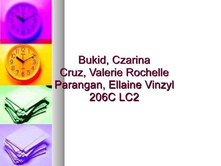 Bukid, Czarina Cruz, Valerie Rochelle Parangan, Ellaine Vinzyl 206C LC2