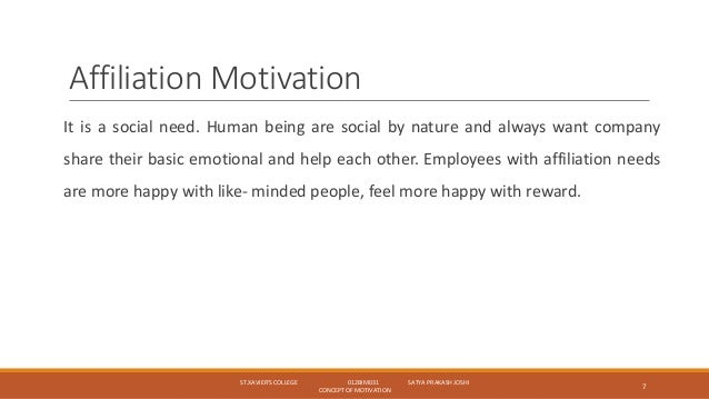 concept of motivation Download citation | the concept of motiv | current theories of motivation are  examined and found wanting in certain respects most of man's behavior is to be .