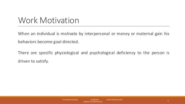 definition and concept of motivation Douglas mcgregor, an american social psychologist, proposed his famous x-y theory in his 1960 book 'the human side of enterprise' theory x and theory y are still referred to commonly in the.