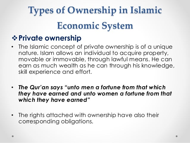 Private Ownership Of Property Capitalism