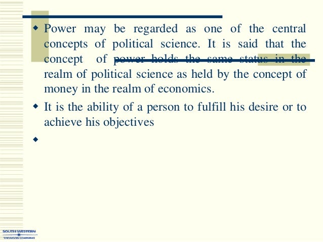 what is power in sociology