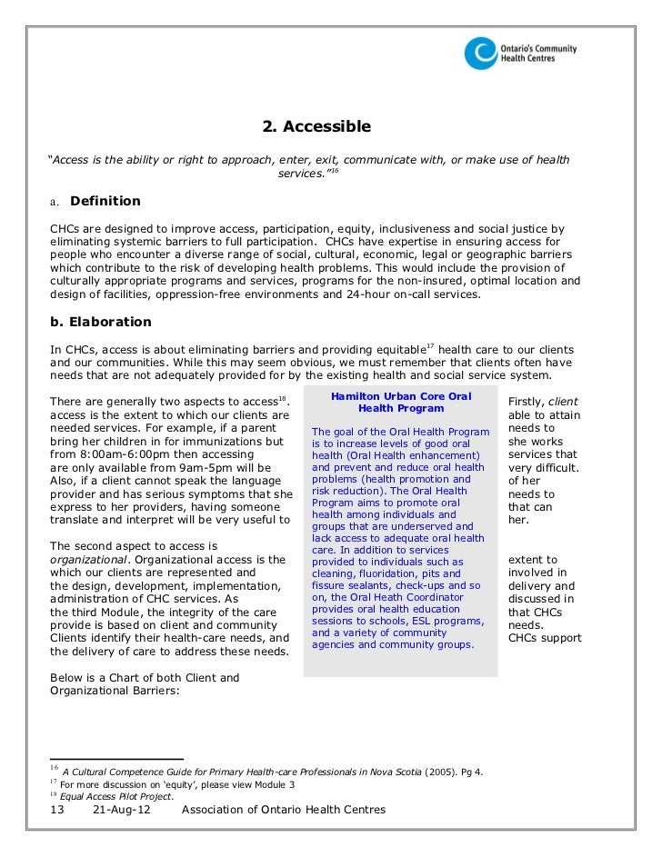 Ccac Client Services Policy Manual