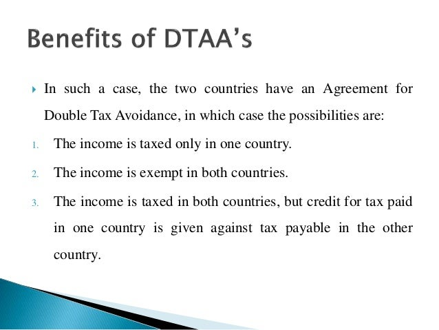 What Is Double Tax Avoidance Agreement Term Paper Service