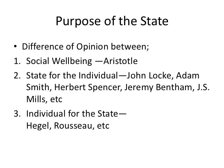 Rousseau and Aristotle