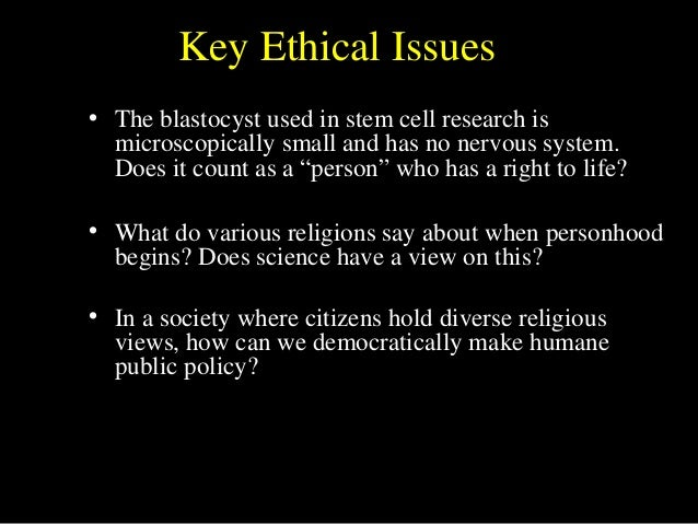 religious views on stem cell research