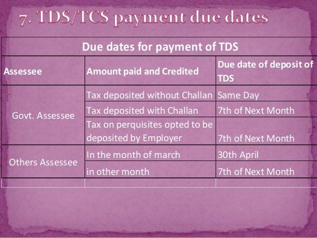 tds return filing procedure pdf