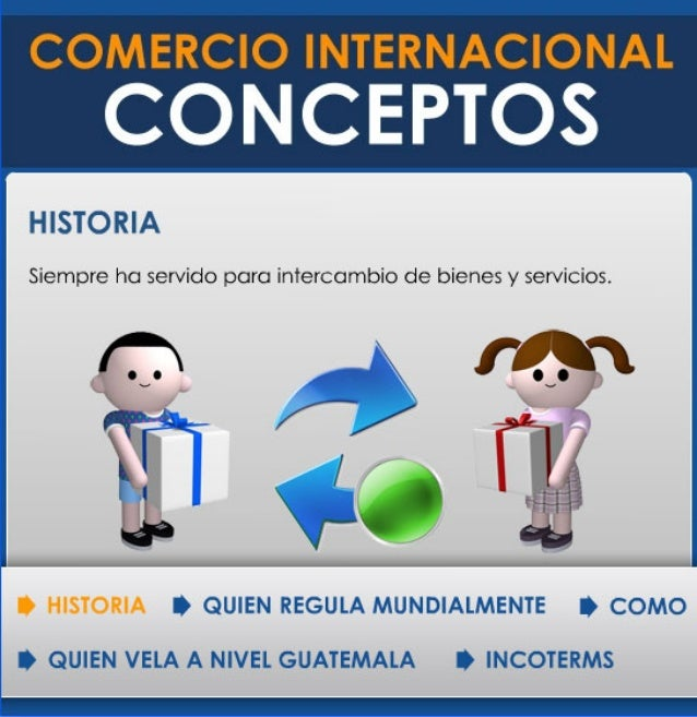 Conceptos principales comercio internacional for Comercio exterior