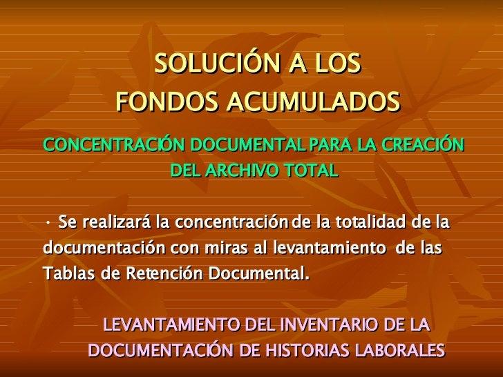 Archivistica Slide 3