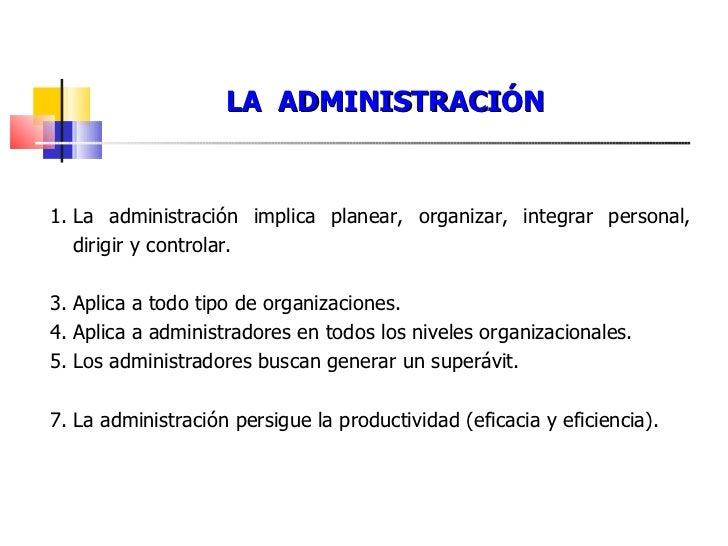 Conceptos de administraci n y organizaci n de empresas for Concepto de tecnicas de oficina