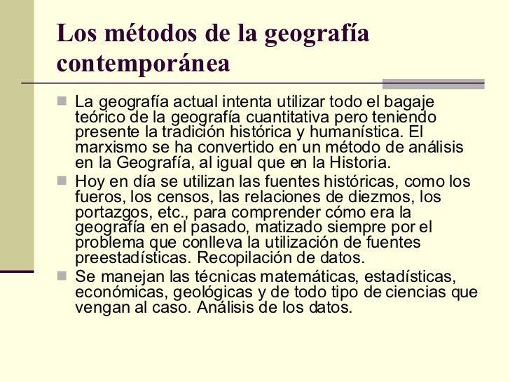 Conceptos generales de geograf a for Definicion de contemporanea
