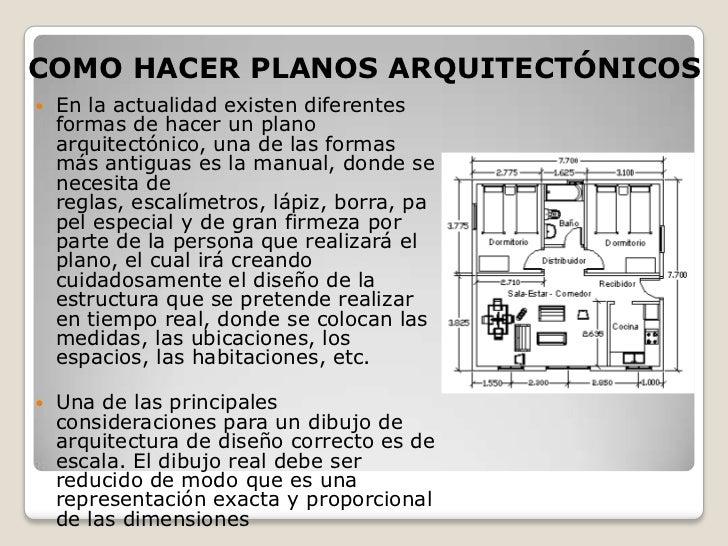 Conceptos b sicos arquitectura for Que es una planta arquitectonica