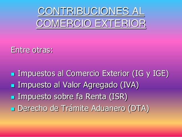 Conceptosbasicoscomercioexterior 090608145430 phpapp01 - Calculo de impuestos al comercio exterior ...