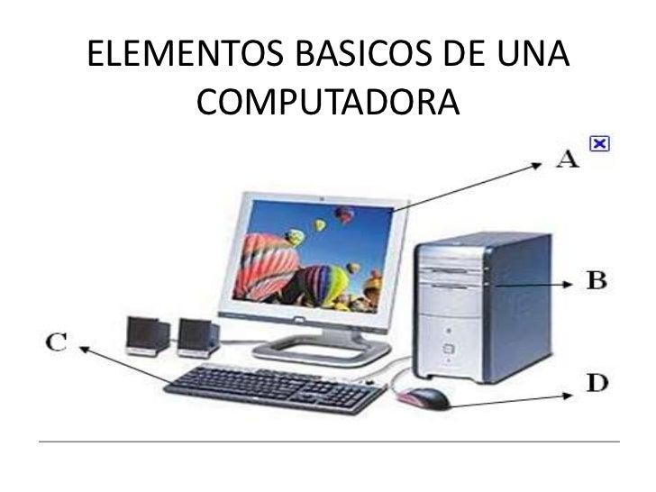 presentacion conceptos basicos de computaci n On elementos de la computadora