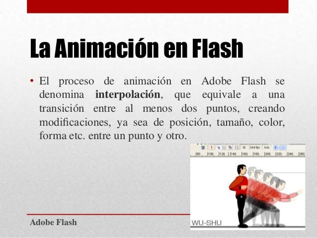 adobe flash la animacin en