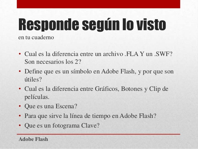 interfaz de adobe flash csadobe flash