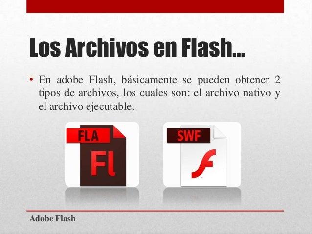 adobe flash los archivos en