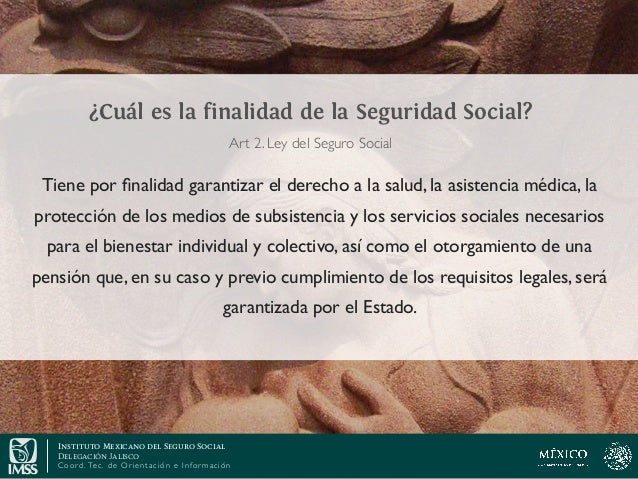 Conceptos básicos de la Ley del Seguro Social Slide 2