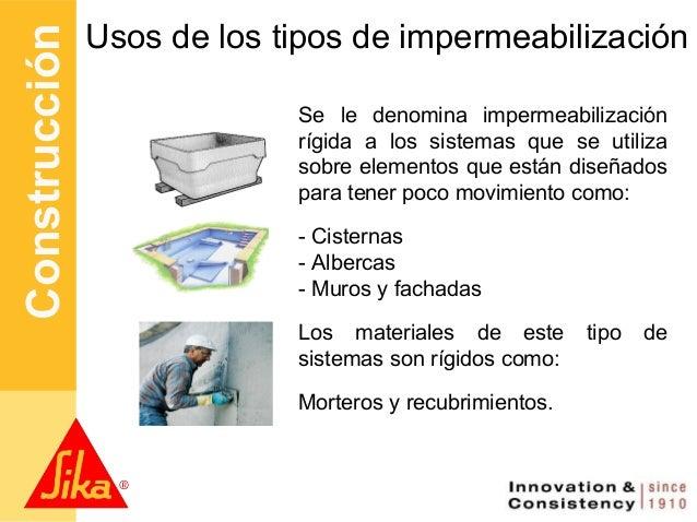 Conceptos b sicos de impermeabilizaci n may 2012 - Tipos de impermeabilizacion ...