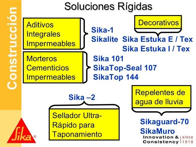 Conceptos b sicos de impermeabilizaci n may 2012 - Sikatop seal 107 ...