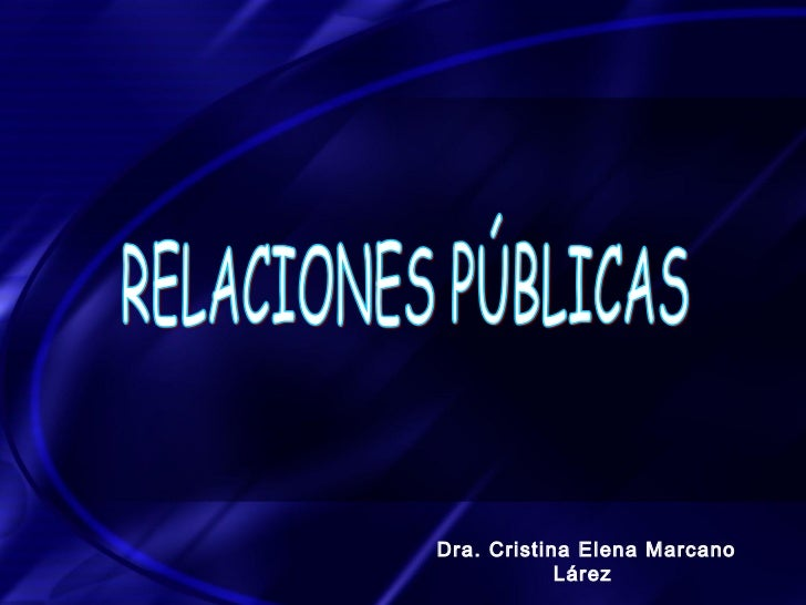 Dra. Cristina Elena Marcano            Lárez