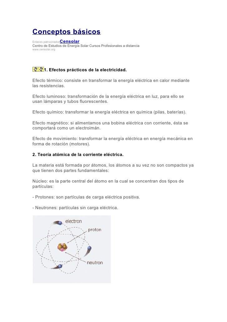 Conceptos básicos Enlaces patrocinados   Censolar Centro de Estudios de Energía Solar Cursos Profesionales a distancia www...