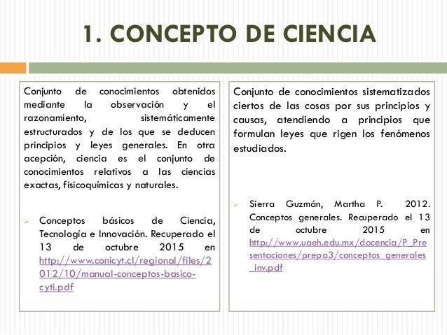 conceptos de ciencia y tecnolog a trabajo grupo