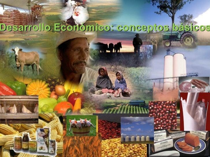 Desarrollo Económico: conceptos básicos
