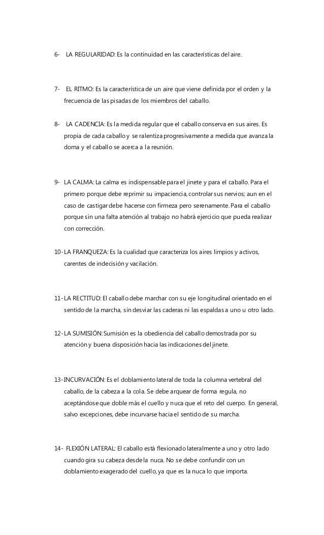 6- LA REGULARIDAD: Es la continuidad en las características del aire. 7- EL RITMO: Es la característica de un aire que vie...