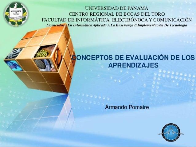 UNIVERSIDAD DE PANAMÁLOGO            CENTRO REGIONAL DE BOCAS DEL TORO       FACULTAD DE INFORMÁTICA, ELECTRÓNOCA Y COMUNI...