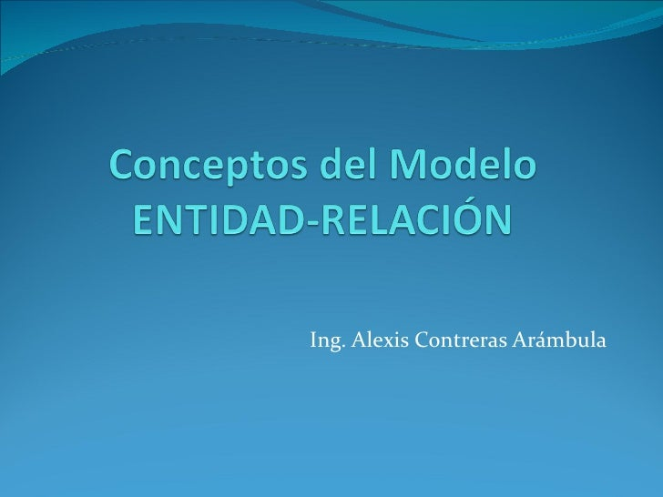 Ing. Alexis Contreras Arámbula