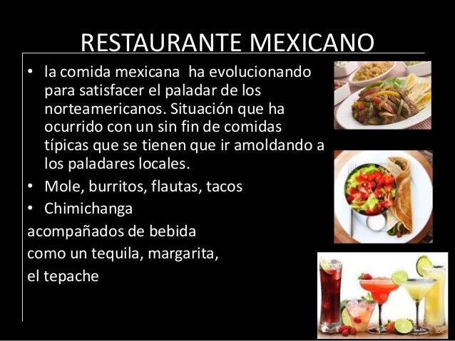 Conceptos de restaurante mexicano for Los azulejos restaurante mexicano