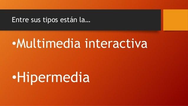Conceptos de sistema multimedia y sus usos bolo Slide 3