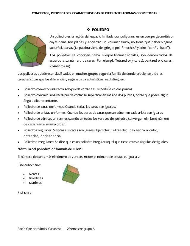 Conceptos propiedades y caracteristicas de formas geometricas for Marmol caracteristicas y usos