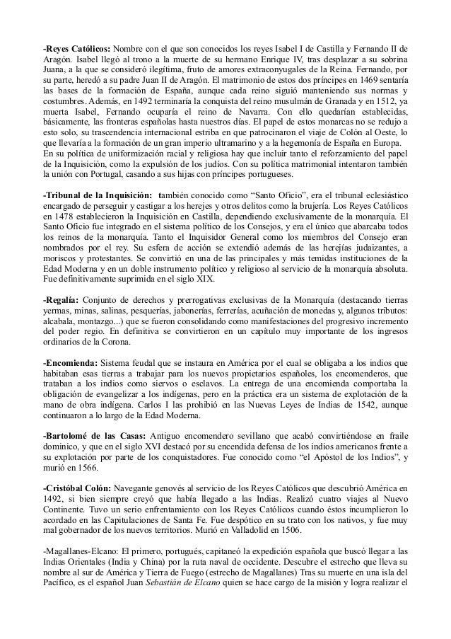 -Reyes Católicos: Nombre con el que son conocidos los reyes Isabel I de Castilla y Fernando II de Aragón. Isabel llegó al ...