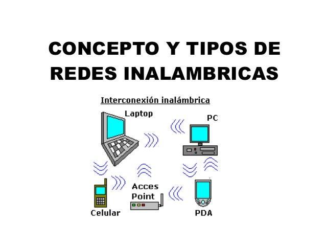 CONCEPTO Y TIPOS DEREDES INALAMBRICAS