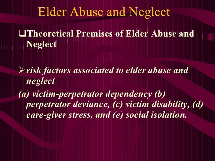 elderly abuse and thesis 1 doing the right thing the ethical decision-making process for social work ers working with victims of elder abuse a thesis submitted to mcgill university.