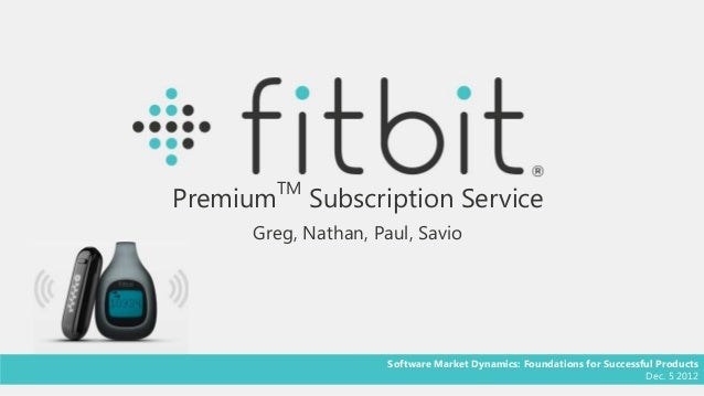 TMPremium        Subscription Service     Greg, Nathan, Paul, Savio                     Software Market Dynamics: Foundati...