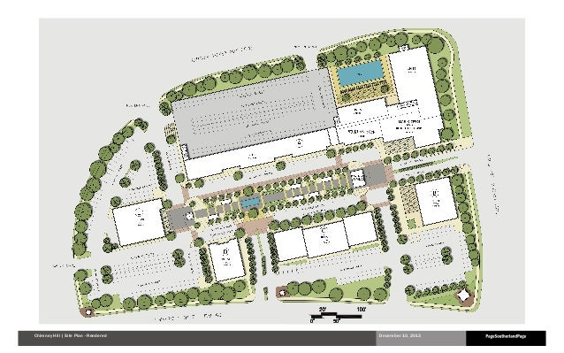 Chimney Hill | Site Plan - Rendered  December 10, 2013