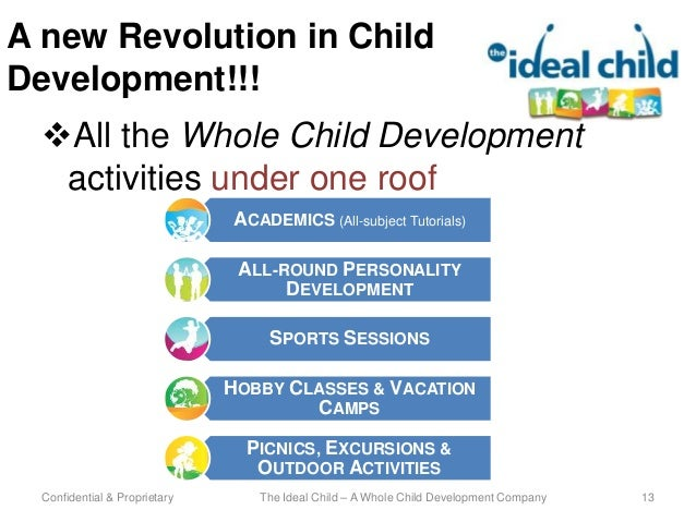 an introduction to the concept of healthy child development Introduction to child development 1 why you should read this chapter  2 child development: a practical introduction by the end of this chapter you should  freud viewed healthy development as achieving a balance between the three conflicting components of personality the id communicates basic needs, the superego.
