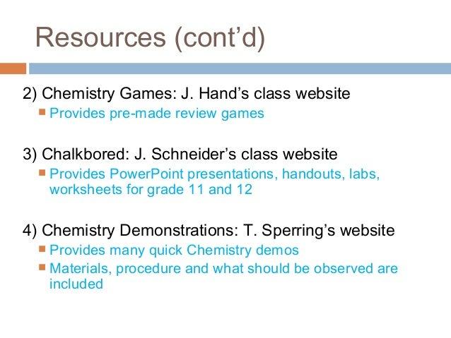 Concept presentation on chemical bonding (iris lo)