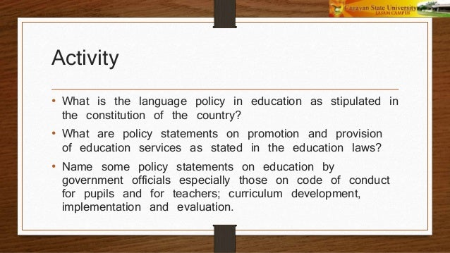 Principles of educational management and supervision
