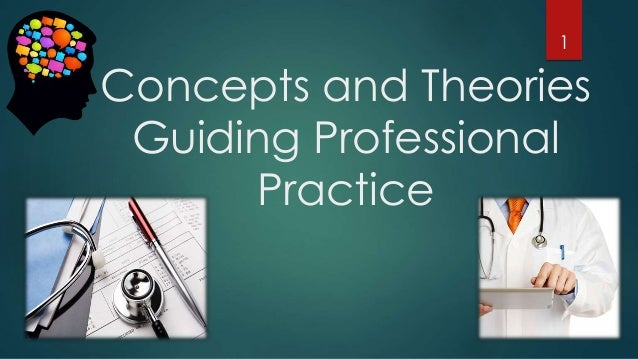 Concepts and Theories Guiding Professional Practice 1