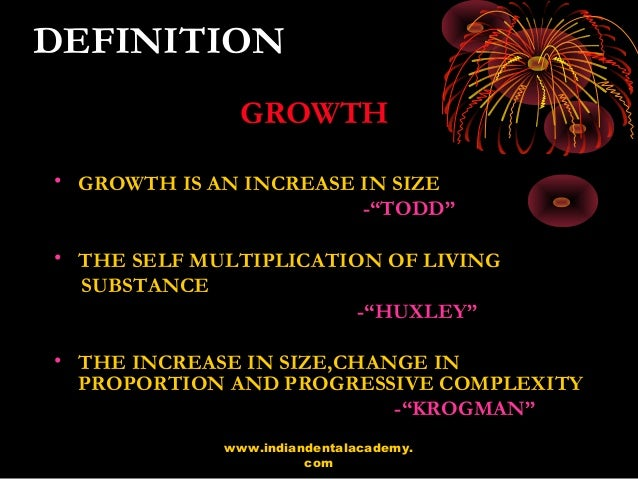 Concepts of growth and development 2 definition malvernweather Choice Image
