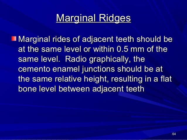 Buccolingual inclination The buccolingual inclination of the maxillary and mandibular posterior teeth is assessed by using...