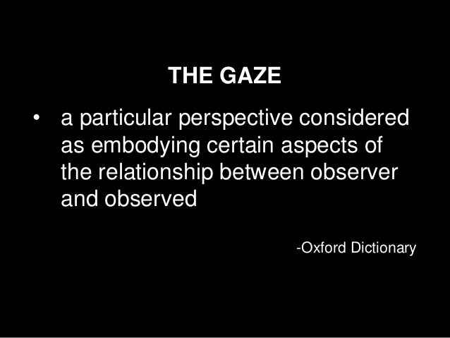 observer and observed relationship