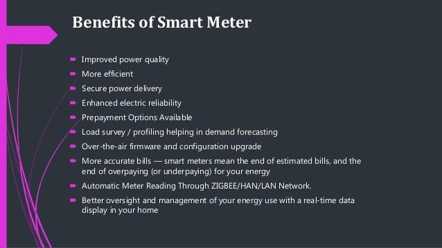 Concepts Of Smart Meter