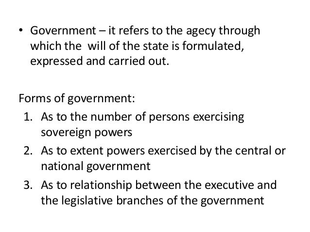 the extent of the legislative powers The separation of powers is a model  as did—to a lesser extent—the judiciary  (horizontal separation of powers): the legislative power is attributed to an .