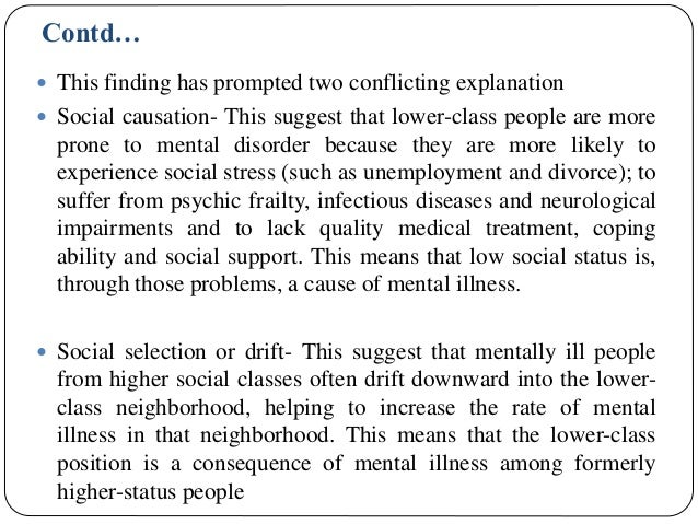 Concepts Of Stigma And Its Relevance In Mental Health