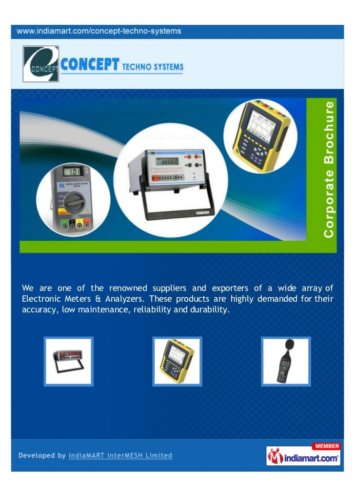 We are one of the renowned suppliers and exporters of a wide array ofElectronic Meters & Analyzers. These products are hig...