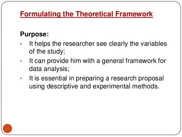 theoretical framework for hr thesis essay